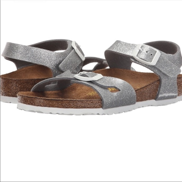 e2253e921 Birkenstock Other - NWOT Birkenstock Rio Magic Galaxy Silver Size 6